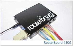 ROUTERBOARD MIKROTIK 450G